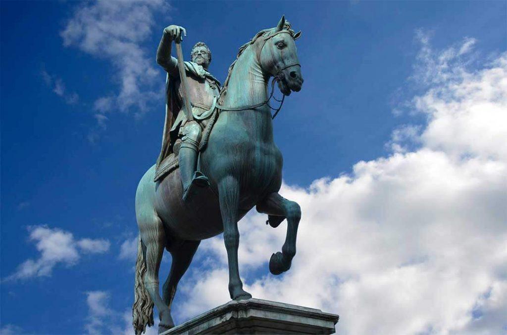 Cosimo I a caballo - Giambologna