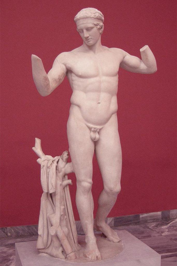 Diadumeno - escultura de policleto