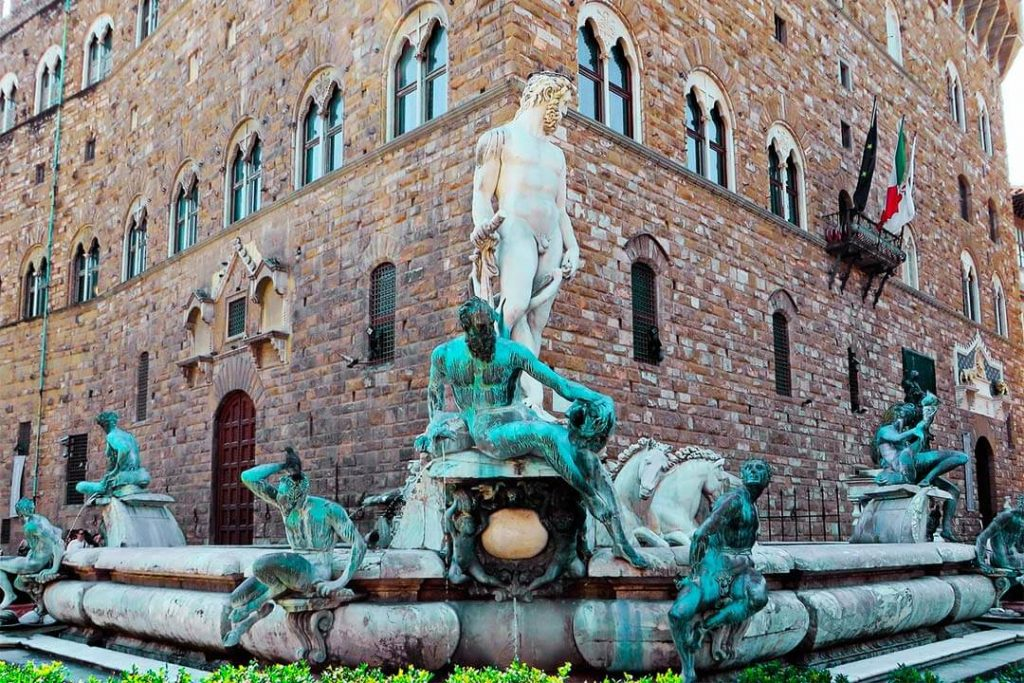 Fuente de Neptuno de Giambologna